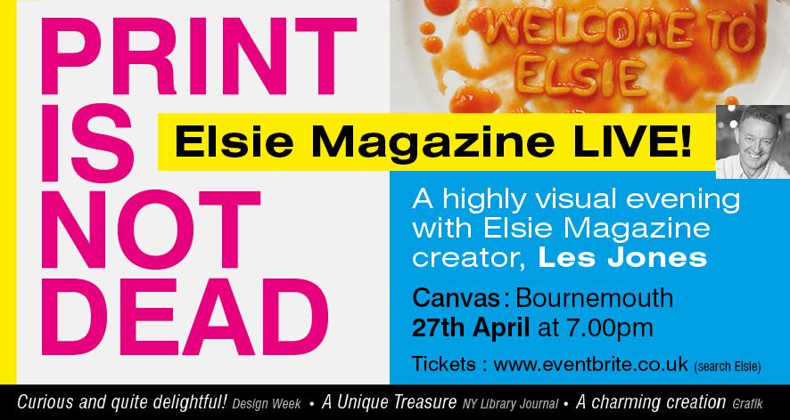 Elsie Magazine LIVE!