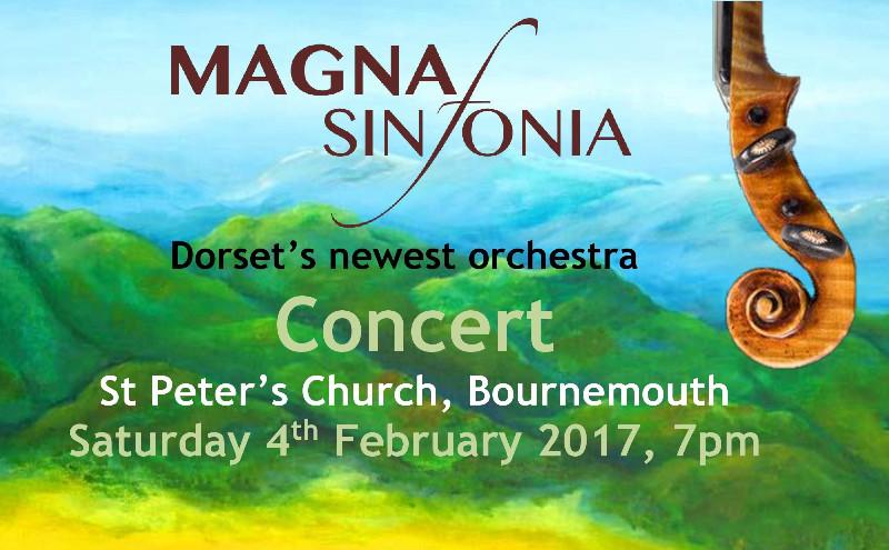 Magna Sinfonia Concert - Appalachian Spring, Sibelius 1