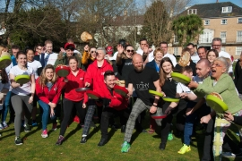 Annual Pancake Race to kick off Christchurch Food Festival 2018