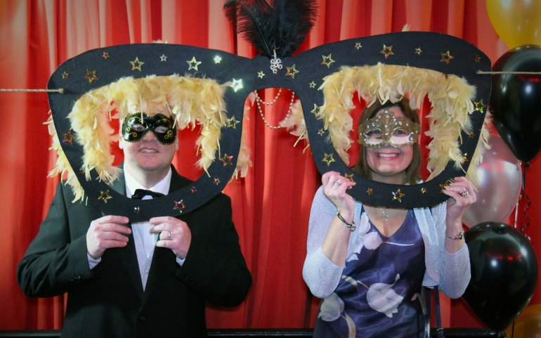 Join the Glitz at Dorset Blind Association's Masquerade Ball