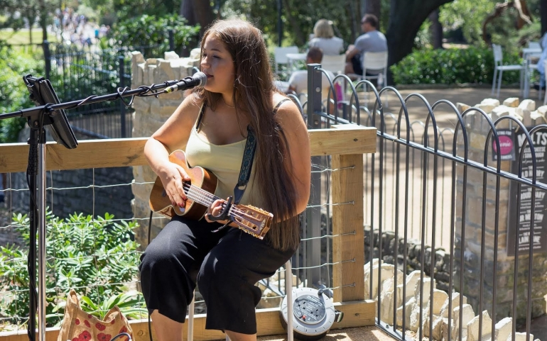 16-year-old's Musical Mission to Support Women's Refuge