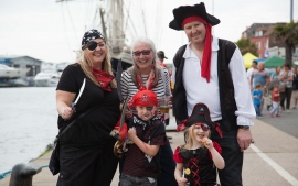 Shiver yer timbers 'Harry Paye Pirate Day' returns to Poole Quay