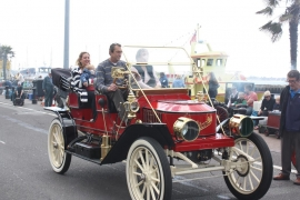 Rare Steam Cars at Mini Steam on Poole Quay