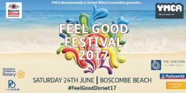 Feel Good Festival on Sat 24 June at Boscombe Pier