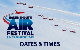 Bournemouth Air Festival 2015 Line Up
