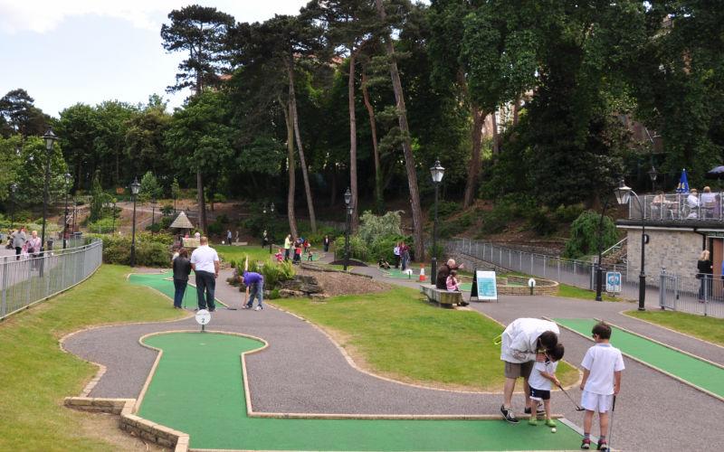 Boscombe Chine Gardens Mini Golf