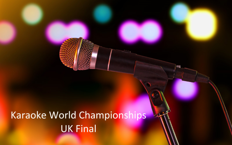 Karaoke World Championships - UK Final
