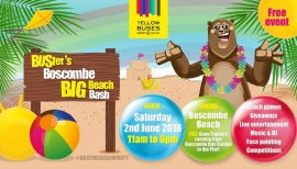 Your invitation to Buster's Boscombe Big Beach Bash