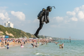 Photos from Jet Suit Demonstration at Air Festival