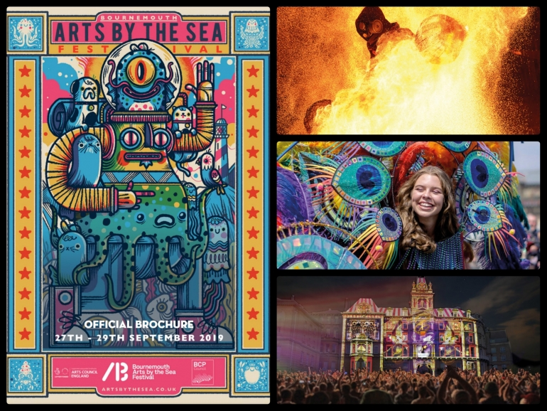 Bournemouth Arts by the Sea Festival Line Up