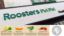 Roosters Piri Piri - Lunch Review
