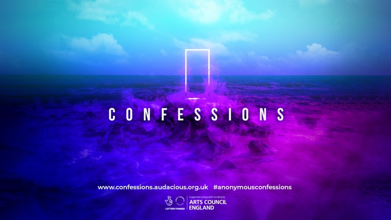 Audacious Launches Confessions Art Project