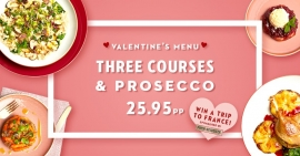 Cafe Rouge's Valentine's Day Offer