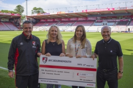 AFC Bournemouth Cherries Community Fund help for children affected by domestic abuse