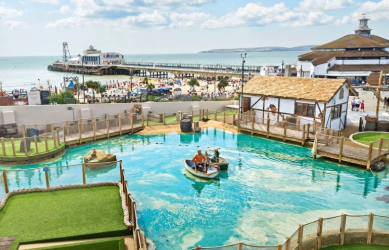 Smugglers Cove Adventure Golf Now Open