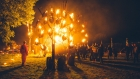The Fire Garden by Walk the Plank. Image Danny North & Andrew Whitton