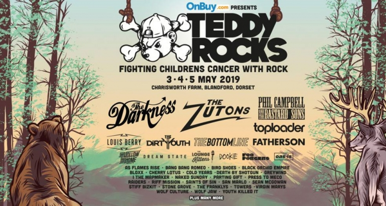 The Darkness and The Zuton headline Teddy Rocks Festival 2019