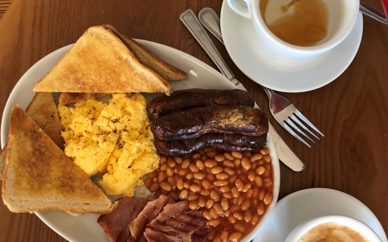 £10 Weekend Brunch Offer at The Real Eating Company