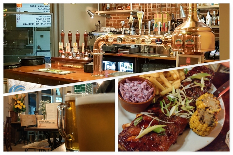 What's dinner like at Brewhouse & Kitchen in Bournemouth?
