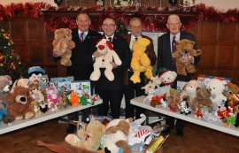 Toys collected to give kids a cracking Christmas