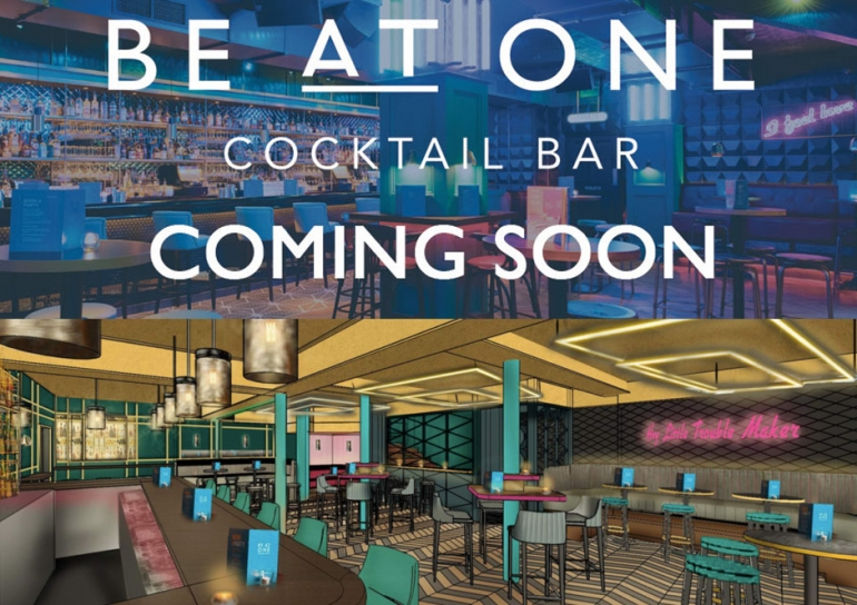 When does new cocktail bar 'Be At One' open in Bournemouth?