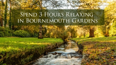 Spend 3 Hours Relaxing in Bournemouth Gardens