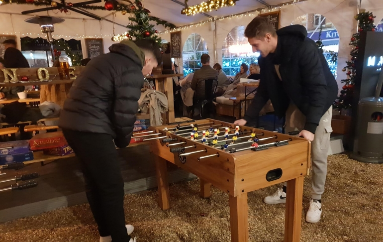 Winter Alpine-style Lodge Supports Hospice in Poole