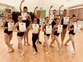 Local Dance School Celebrates Outstanding Ballet Results
