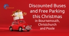 Free Parking and Discounted Buses this Christmas