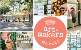 The Pine Walk Art Exhibition becomes The Art & Makers Market