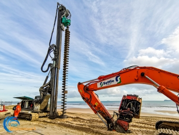 A look at the Bournemouth Beach Works