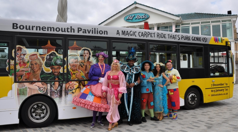 Panto Bus is a Pure Genie-us