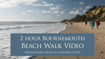 Take a 2 hour Stroll Along on Bournemouth Beach