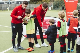 Vodafone Goes Gigafast for AFC Bournemouth