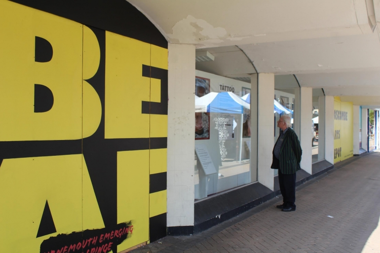 Bournemouth Emerging Arts Fringe Opens First 'Socially Distanced' Exhibition