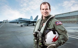 Swiss Air Force to bring F/A-18 Hornet to Air Show