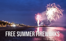 Free Summer 2016 Fireworks Displays