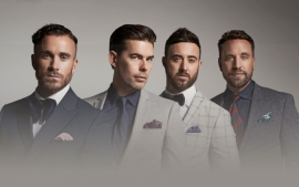 The Overtones Bring Xmas to Bournemouth
