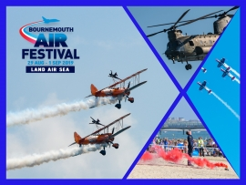 What's on for the Bournemouth Air Festival 2019?