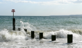 New groynes and beach work continue to provide coastal protection