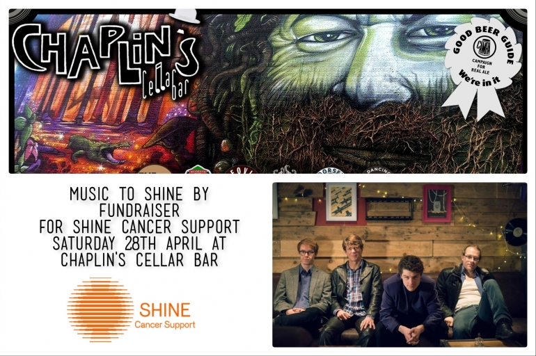 Music to Shine By Fundraiser at Chaplin's Cellar Bar