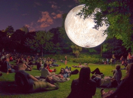 Where will the DORSET MOON land this summer?