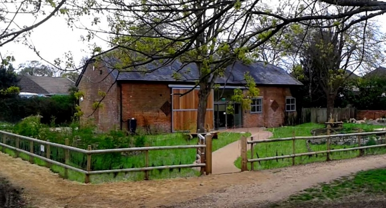 New Visitor Centre Opens - Kingfisher Barn