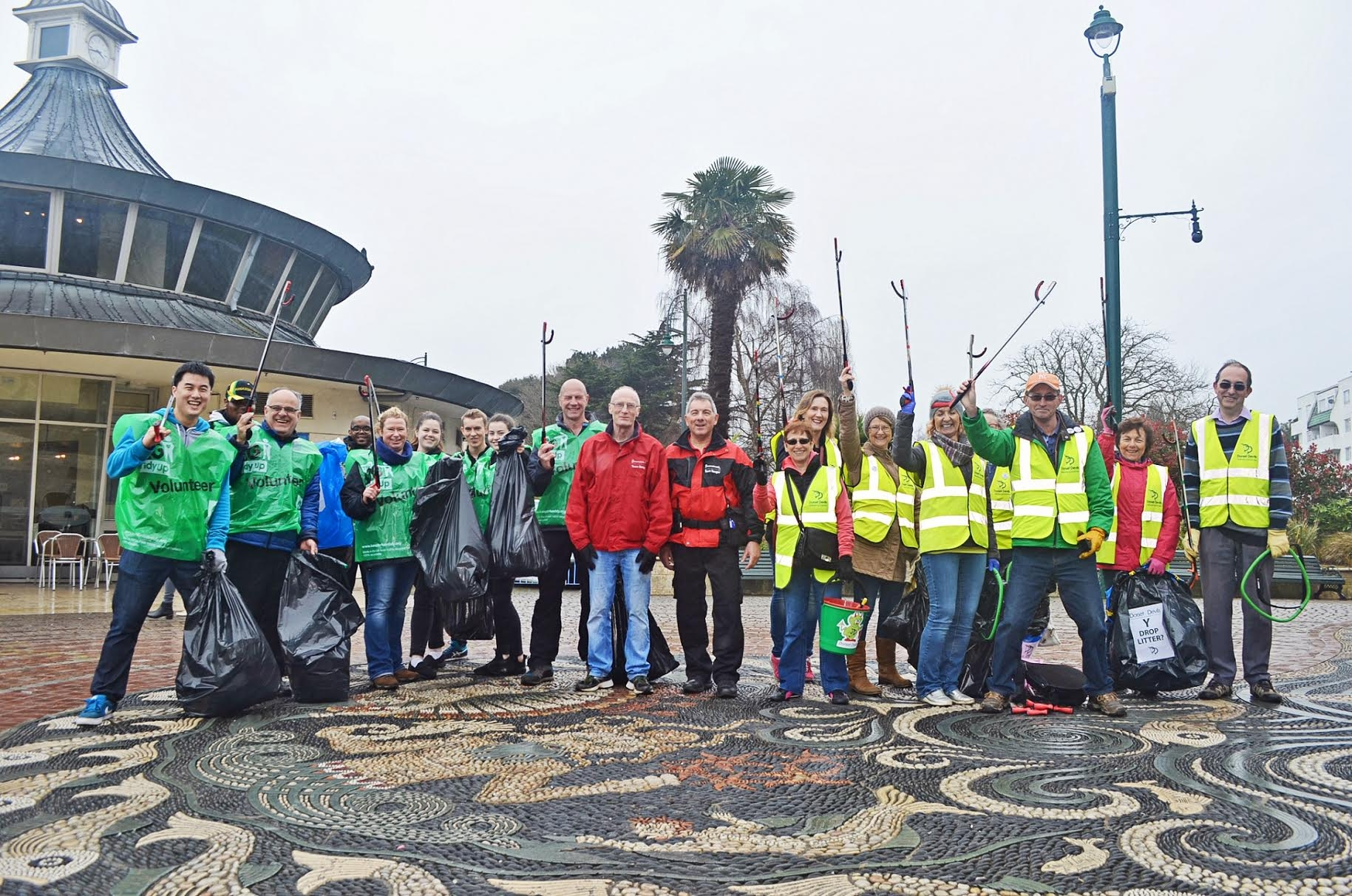 Volunteers for the Big Bournemouth Clean Up this May