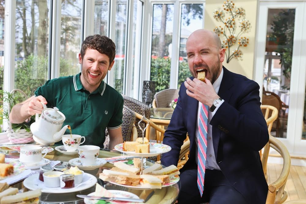 Comedian Tom Allen visits The Grove Hotel