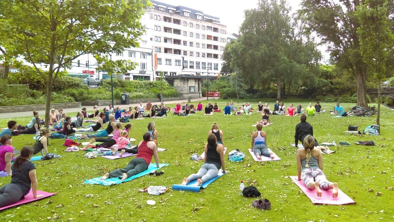 Free Park Yoga is back in Bournemouth this Summer