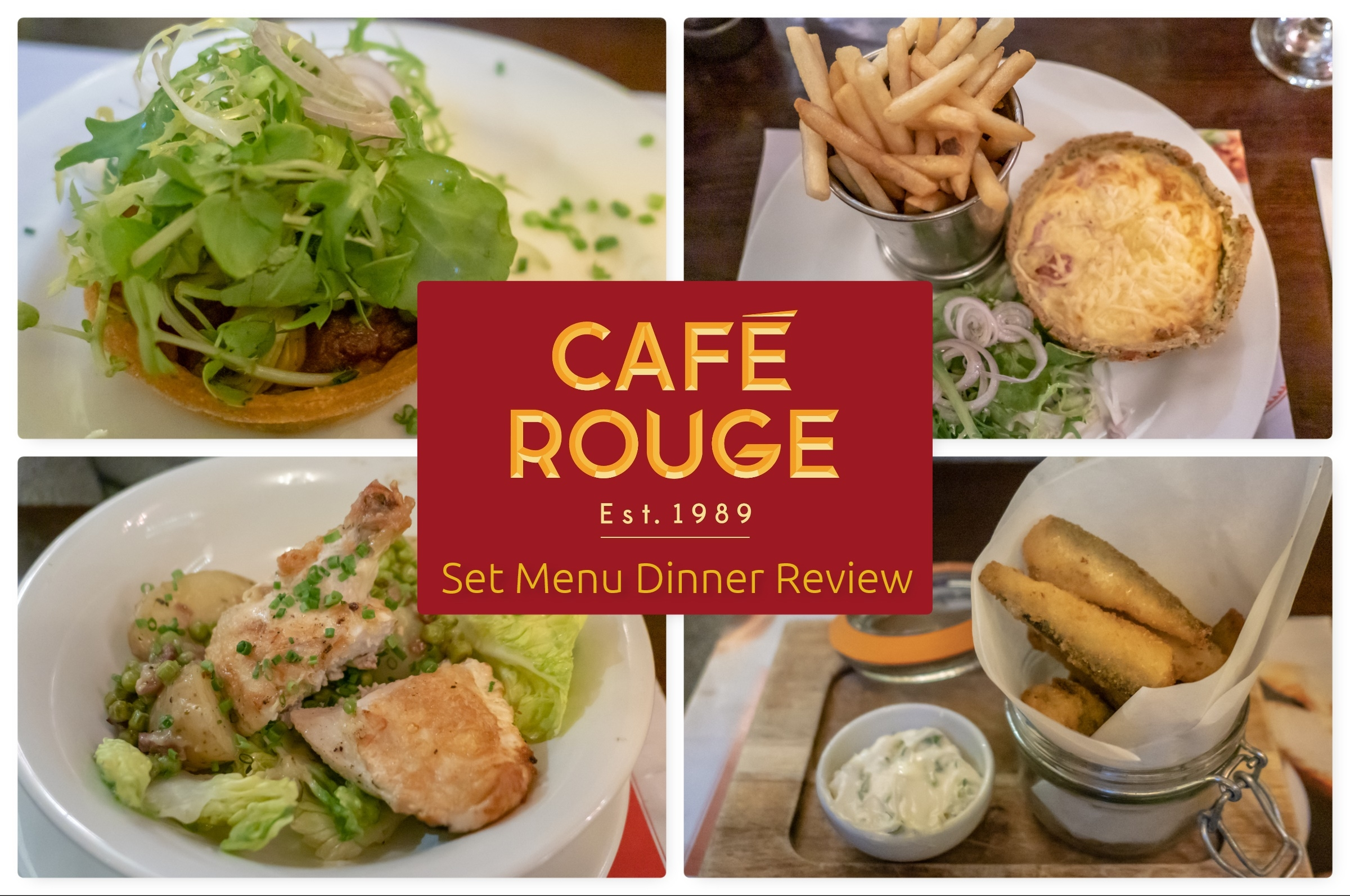 3 course dinner at Café Rouge for £18.95? Read our review