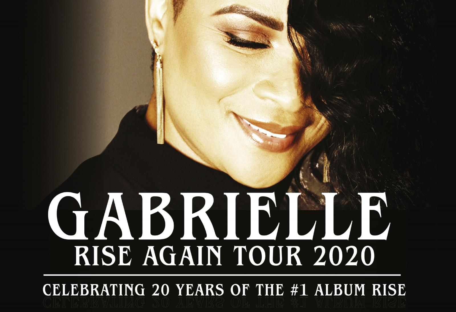 Gabrielle - 20th Anniversary of 'Rise' Tour