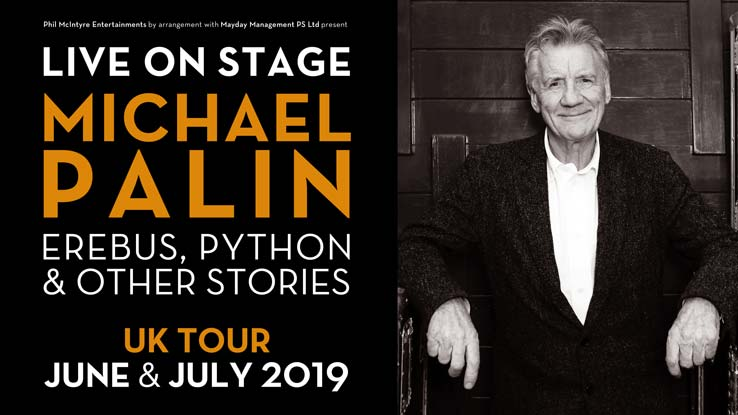 Michael Palin – Live on Stage: Erebus, Python and Other Stories