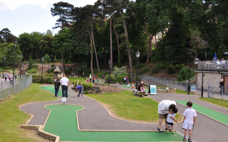 Boscombe Chine Gardens Mini Golf